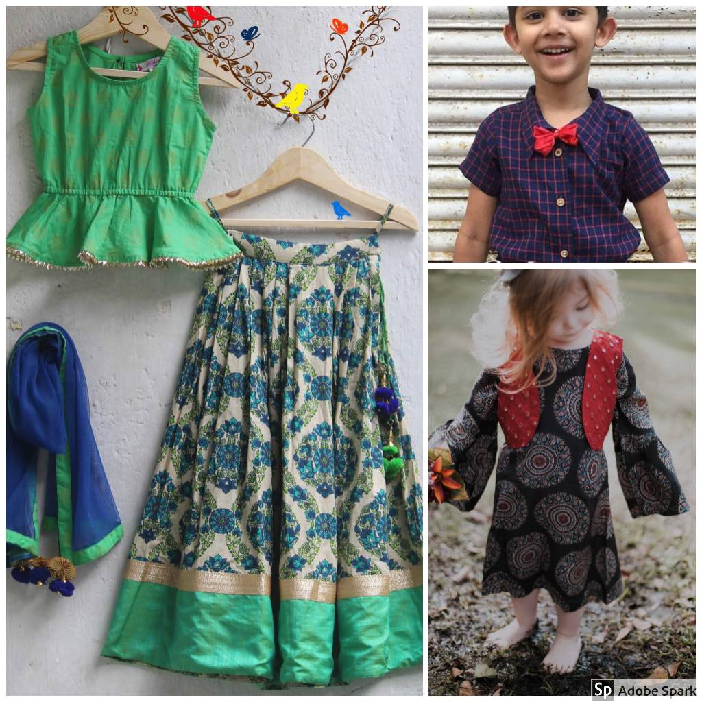 Anu Chi Aai 3 online stores to buy Indian kids' clothing