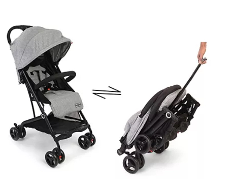 babyhug stroller compact to store after folding useful when limited storage space