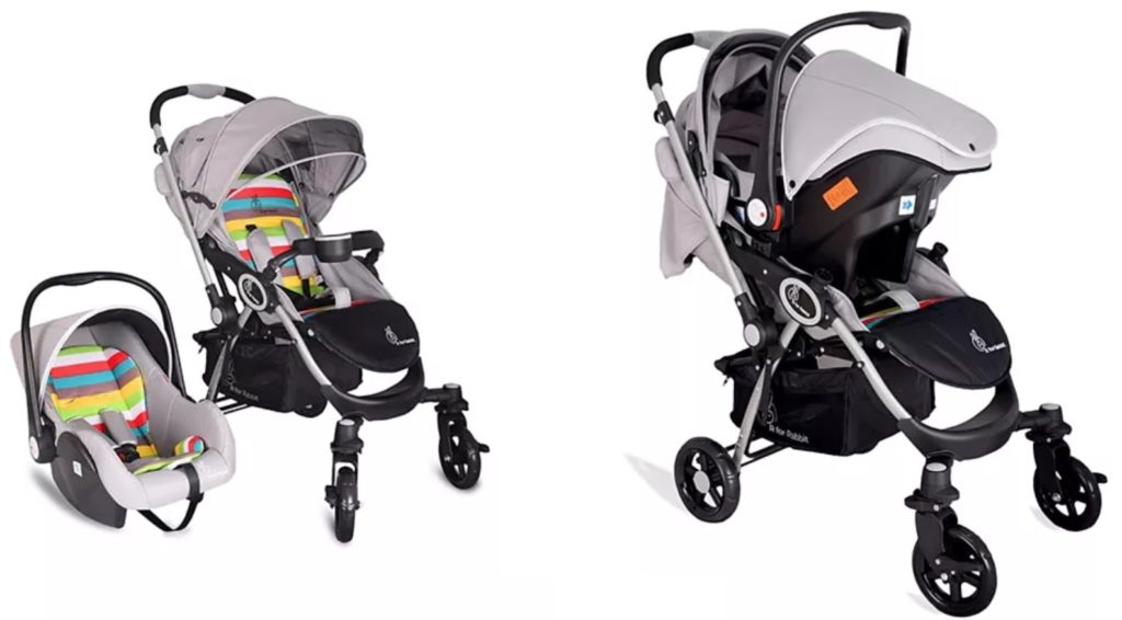 r for rabbit travel system pram with car seat for new born