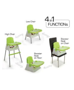 Luvlap baby high chair cum booster seat