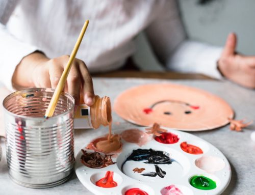 Playing with colours: How to unleash your child's creativity