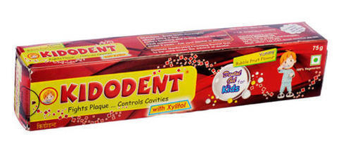 Kidodent fluoridated medicated oral gel toothpaste for kids