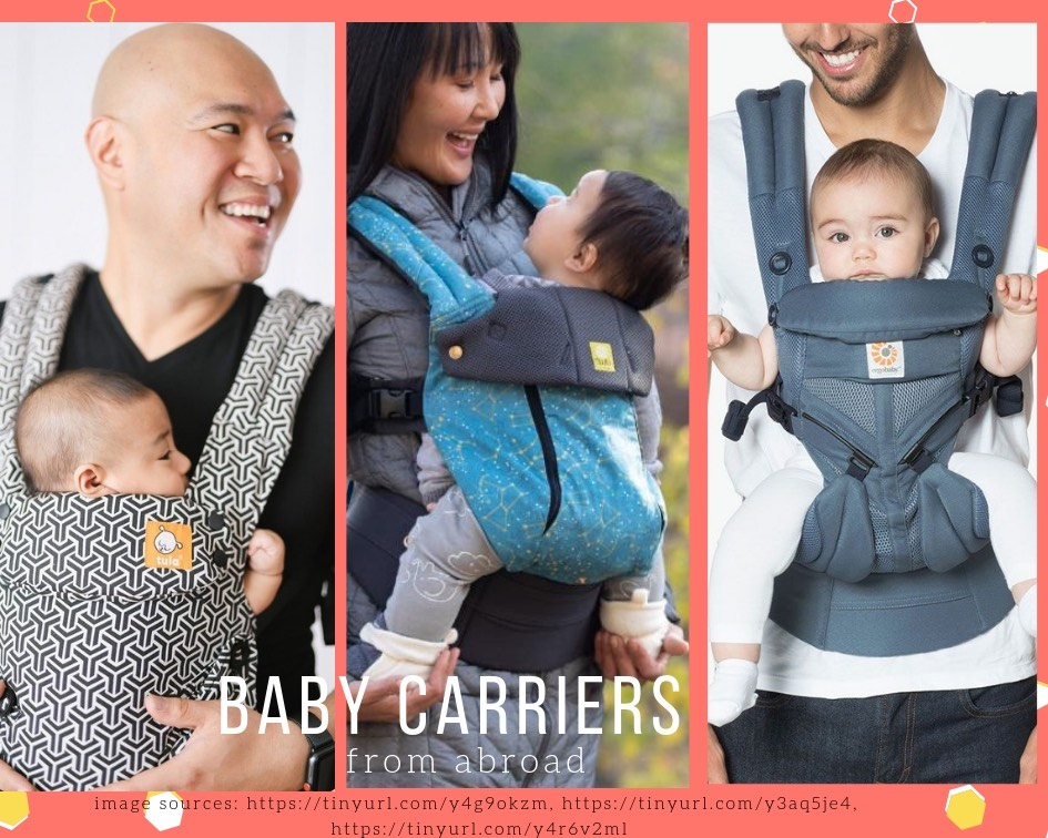 Ergonomic & comfortable baby carriers from Ergobaby, Tula & Lille baby