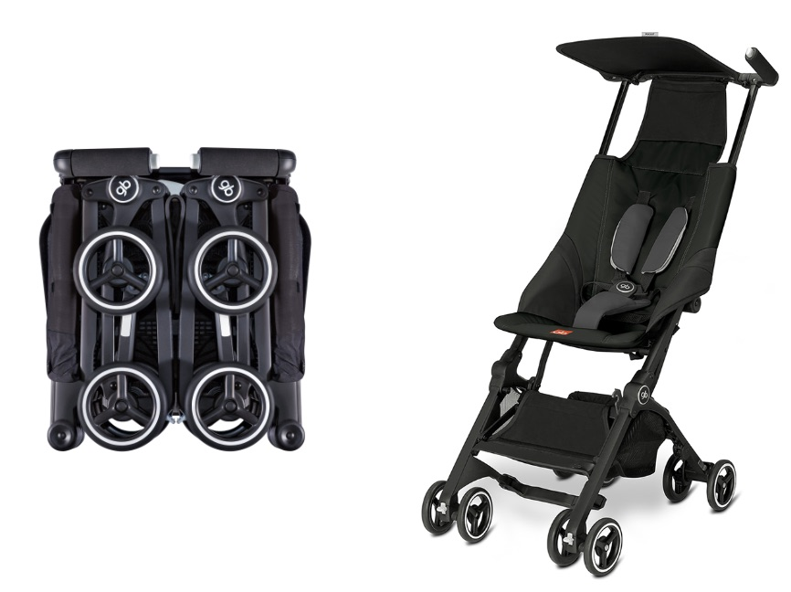 Pockit compact travel stroller