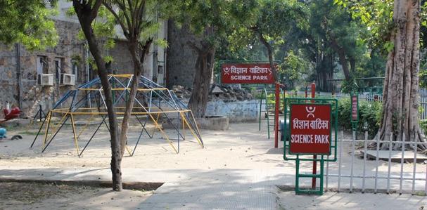 bal bhavan New Delhi has mini zoo aquarium science park etc