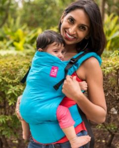 Anmol baby carriers are ergonomic and designed for comfort and protection