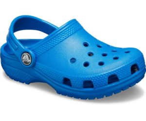 Crocs have a range of colorful, sporty shoes that come in their trademark perforated designs,
