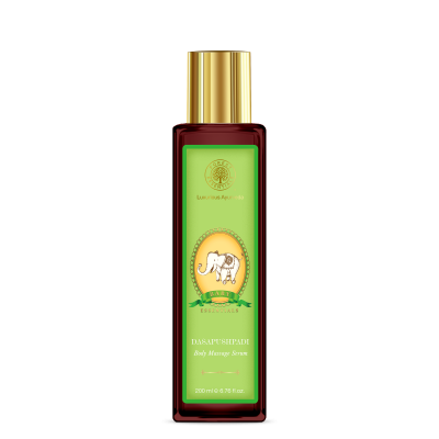 Forest essential massage oil contains incredible natural ingredients that leaves your baby skin soft